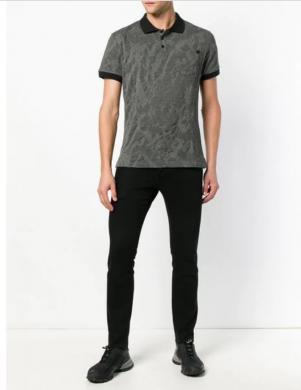 VERSACE JEANS pelēks vīriešu krekls
