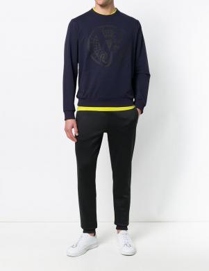 Tumši Zilas krāsas vīriešus džemperis VERSACE JEANS