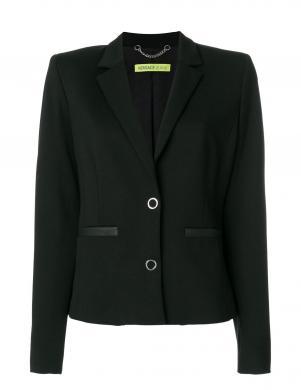 VERSACE JEANS  melnas krāsas stilīga sieviešu jaka