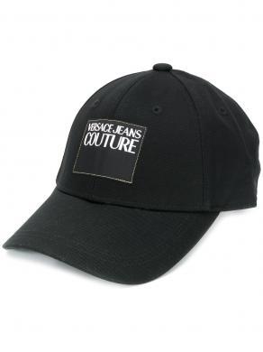 VERSACE JEANS melna vīriešu cepure