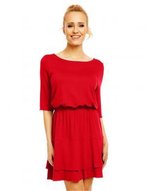 LENTAL sarkanas krāsas skaista sieviešu kleita