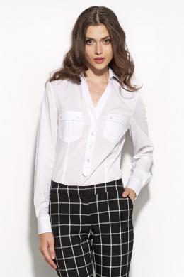 NIFE balts sieviešu krekls
