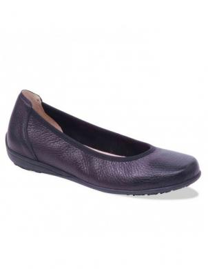 Sieviešu melni ādas apavi CAPRICE