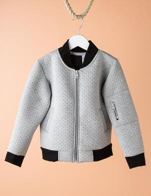 DODO KIDS pelēkas krāsas bērnu džemperis