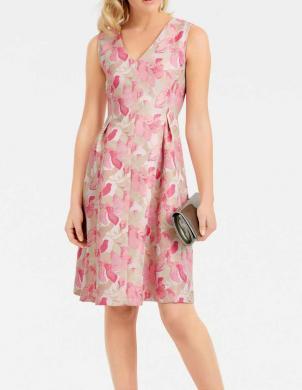Krēmīgas krāsas stilīga kleita ASHLEY BROOKE