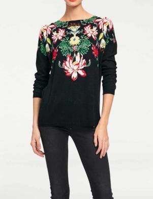 RICK CARDONA puķains skaists sieviešu džemperis