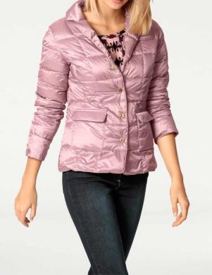 RICK CARDONA sārtas krāsas dūnu sieviešu jaka