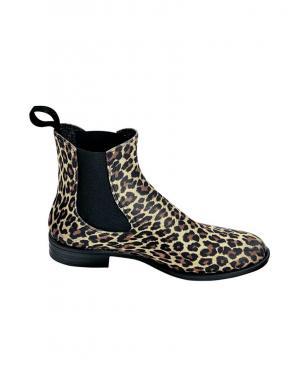 HEINE gumijas leoparda raksta sieviešu zābaki