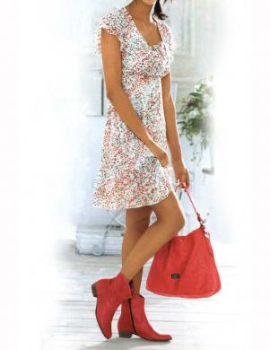 LINEA TESINI krāsaina skaista sieviešu kleita