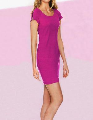 RICK CARDONA stilīga rozā kleita