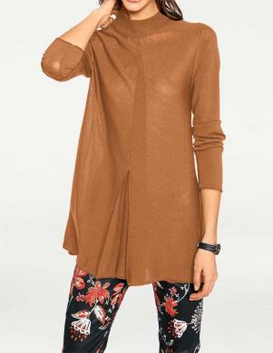 RICK CARDONA brūnas krāsas skaists sieviešu džemperis