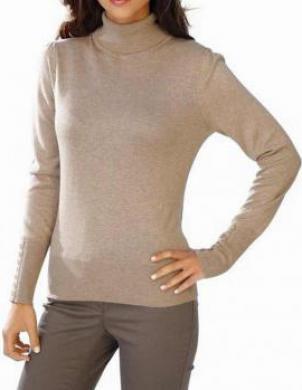 Rozā džemperis ar kašmiru ASHLEY BROOKE