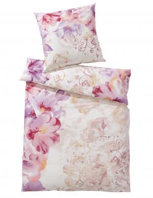 Krāsains gultas veļas komplekts 155x200 HEINE