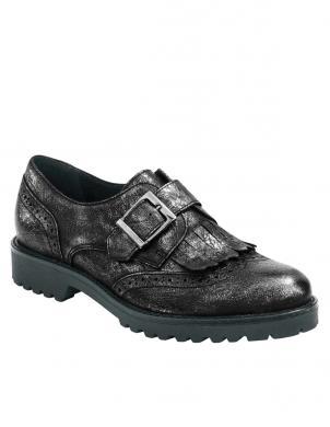 HEINE metāla krāsas stilīgi sieviešu ādas apavi