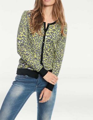 Krāsains džemperis ar sprādzēm RICK CARDONA