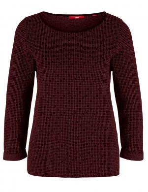 Bordo krāsas džemperis S. OLIVER
