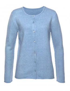 Stilīgs gaiši zilas krāsas džemperis CHEER