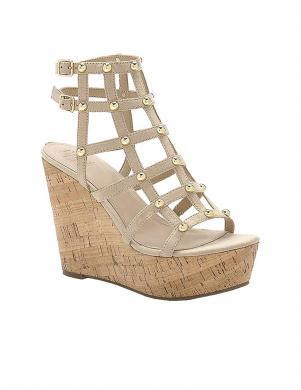Sieviešu smilšu krāsas sandales GUESS