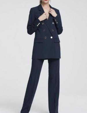 Tumši zila jaka ar biksēm HEINE