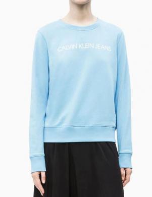 CALVIN KLEIN JEANS zils sieviešu džemperis