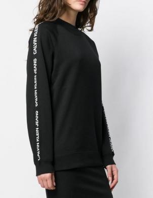CALVIN KLEIN JEANS melns sieviešu džemperis