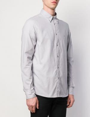 CALVIN KLEIN pelēks vīriešu krekls
