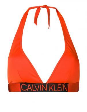 CALVIN KLEIN oranžs peldkostīma krūšturis