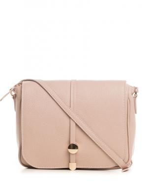 PIA SASSI rozā ādas sieviešu soma