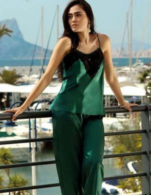 DKAREN pidžama SADIE zaļa