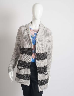 GUESS stilīgs pelēkas krāsas sieviešu džemperis