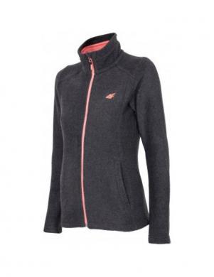 4F sieviešu pelēkas krāsas džemperis
