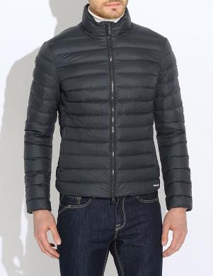 GEOX tumši zilas krāsas stilīga vīriešu dūnu jaka