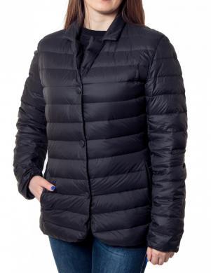 GEOX tumši zilas krāsas sieviešu jaka
