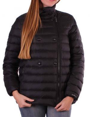 GEOX melnas krāsas dūnu sieviešu jaka