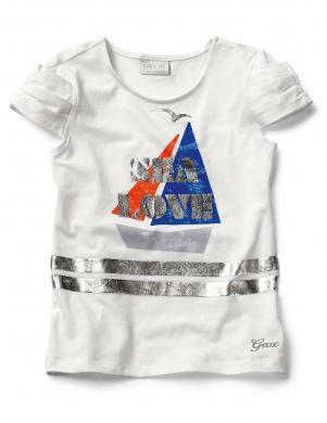 GEOX RESPIRA balts bērnu krekls