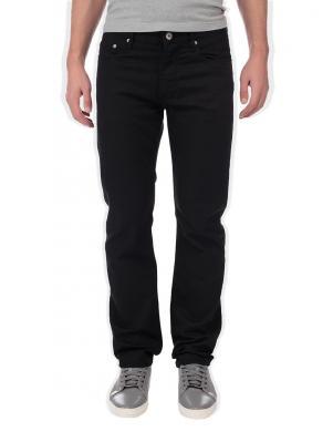 GEOX RESPIRA melnas vīriešu džinsu bikses