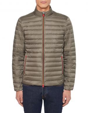 GEOX zaļa dūnu vīriešu jaka