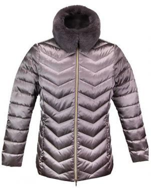 sieviešu pelēka jaka