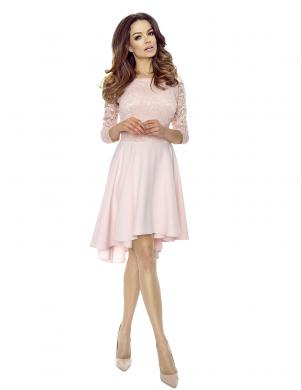 BERGAMO sieviešu gaiši rozā krāsas kleita
