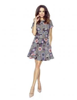 BERGAMO sieviešu krāsaina kleita