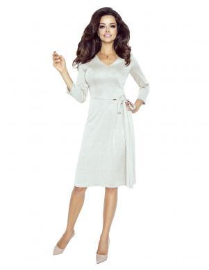 BERGAMO sieviešu smilšu krāsas kleita