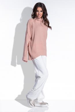FOBYA rozā sieviešu džemperis