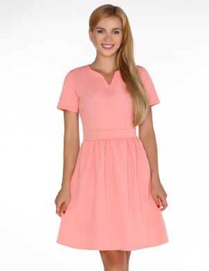 Koraļļu krāsas skaista kleita MERRIBEL