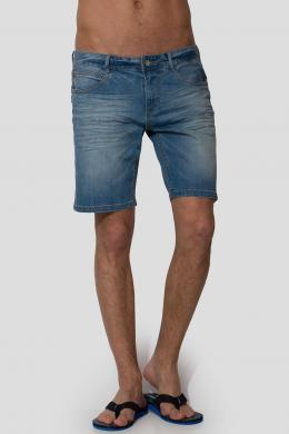 TIMEOUT zili džinsa vīriešu šorti