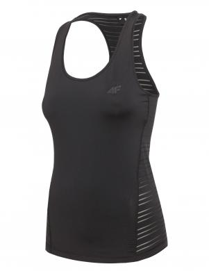 Melns sieviešu krekls 4F
