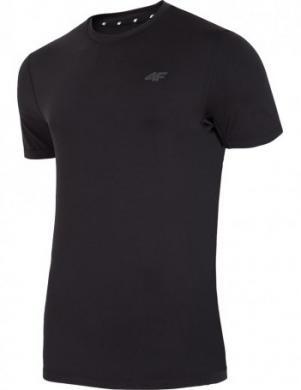 Melns vīriešu sporta krekls TSMF002 4F