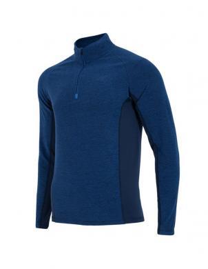 4F tumši zilas krāsas vīriešu termo krekls