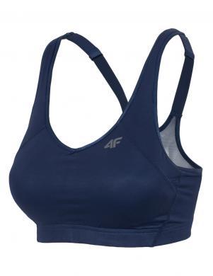 4F tumši zilas krāsas sporta sieviešu krūšturis