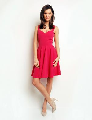 KAREN STYL rozā krāsas sieviešu kleita