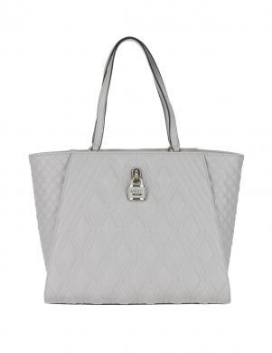 GUESS gaiši pelēkas krāsas sieviešu soma
